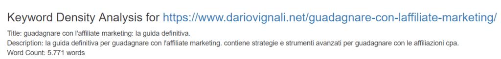 come scrivere un articolo per il blog - Dario Vignali