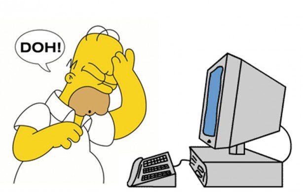 come scrivere un articolo per il blog - Homer Doh!